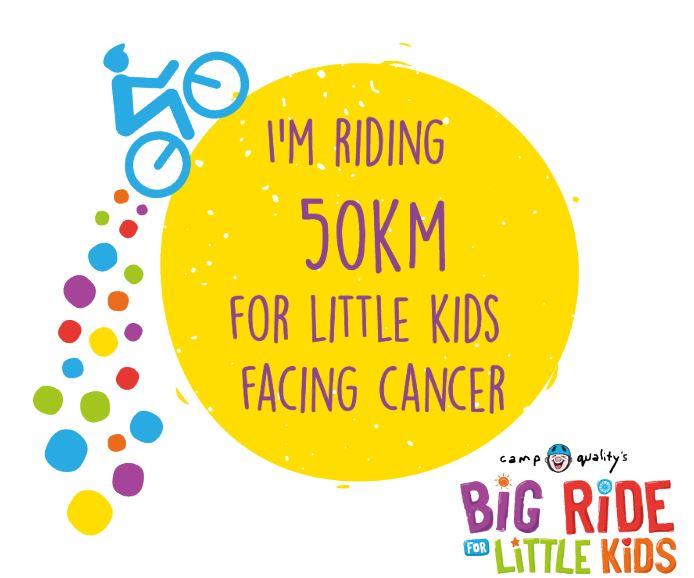 Instagram Post – I'm Riding 50km