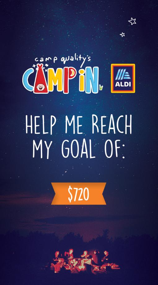 Instagram Story - My Goal is 720