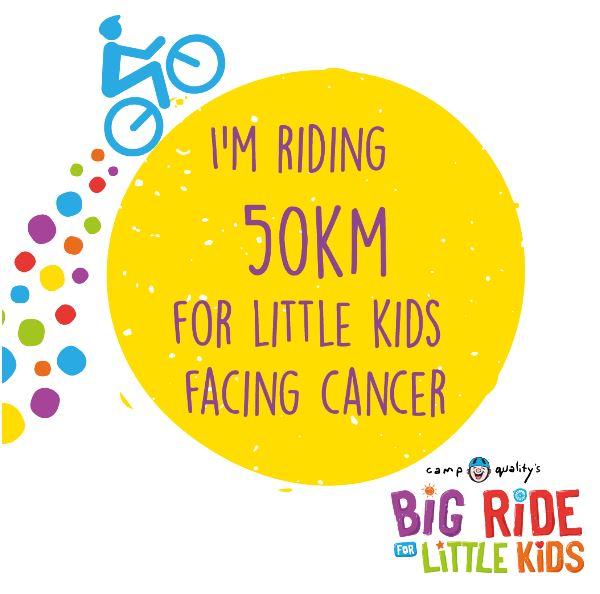 Facebook – I'm Riding 50km
