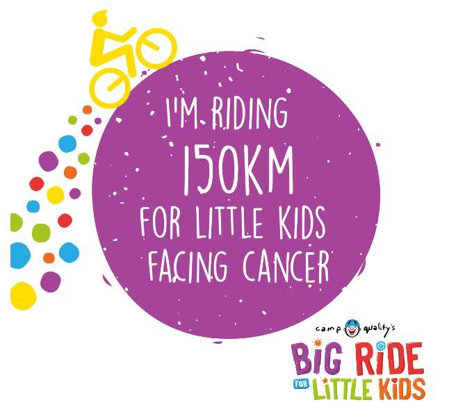 Facebook – I'm Riding 150km