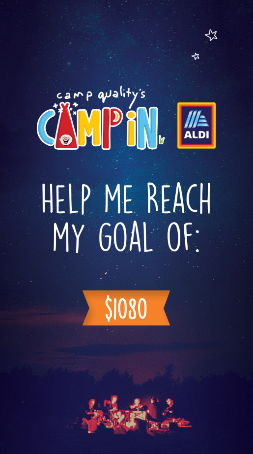 Instagram Story - My Goal is 1080