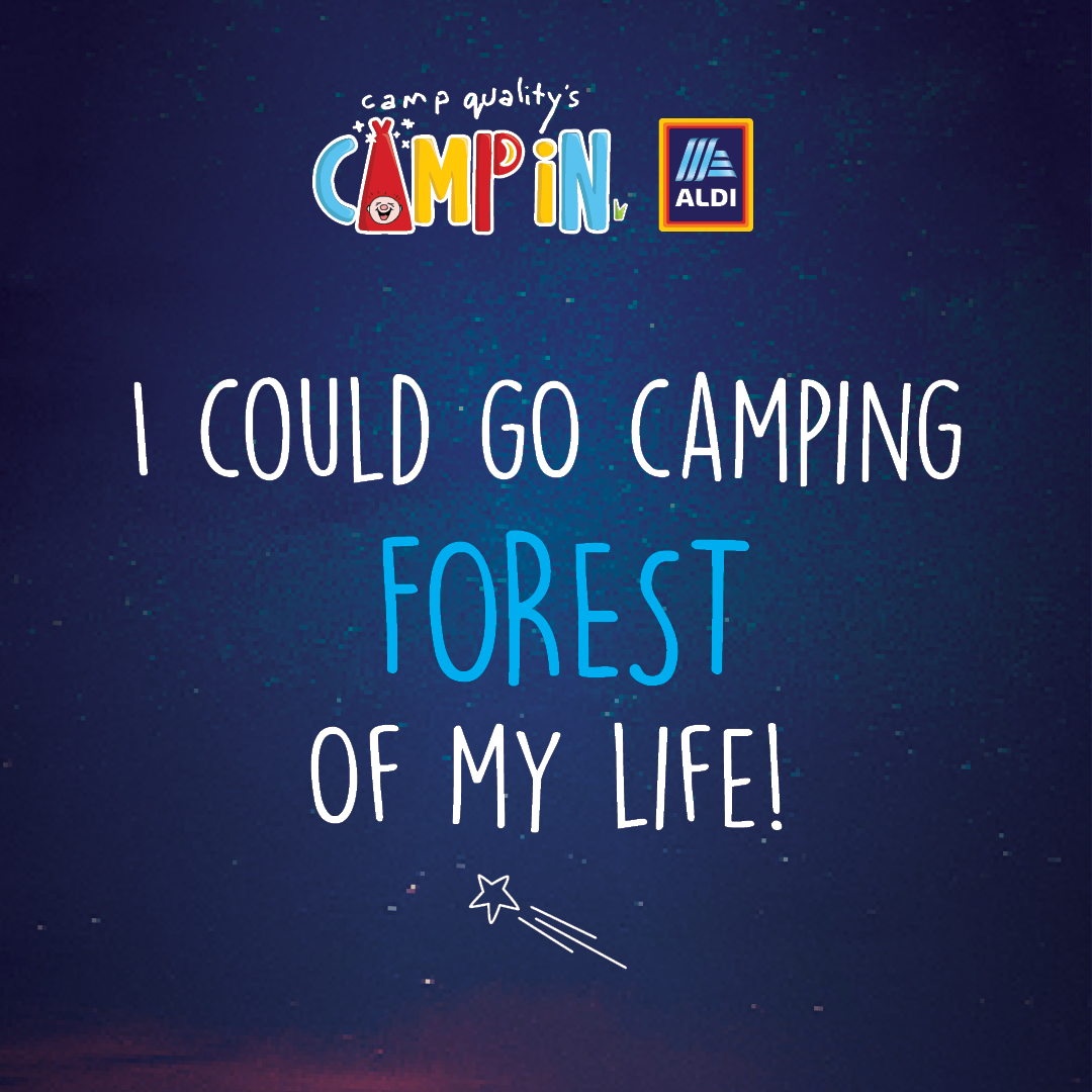 Facebook Instagram Post - Camping Pun 3