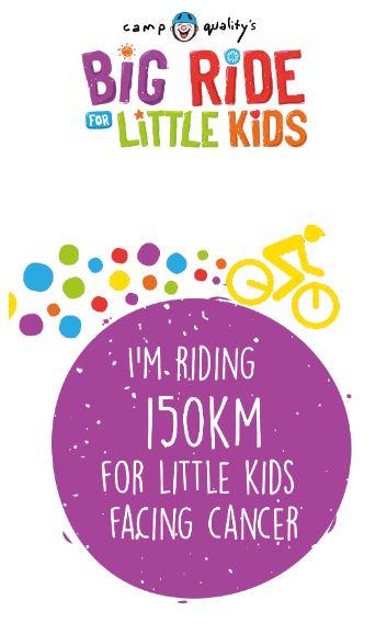 Instagram Story – I'm Riding 150km