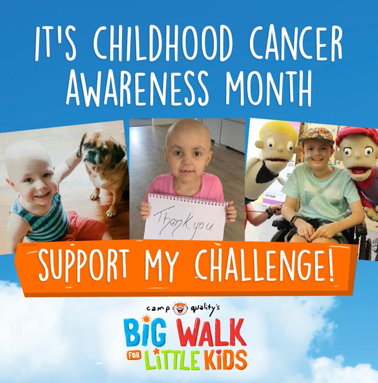 Social Post - Childhood cancer awareness